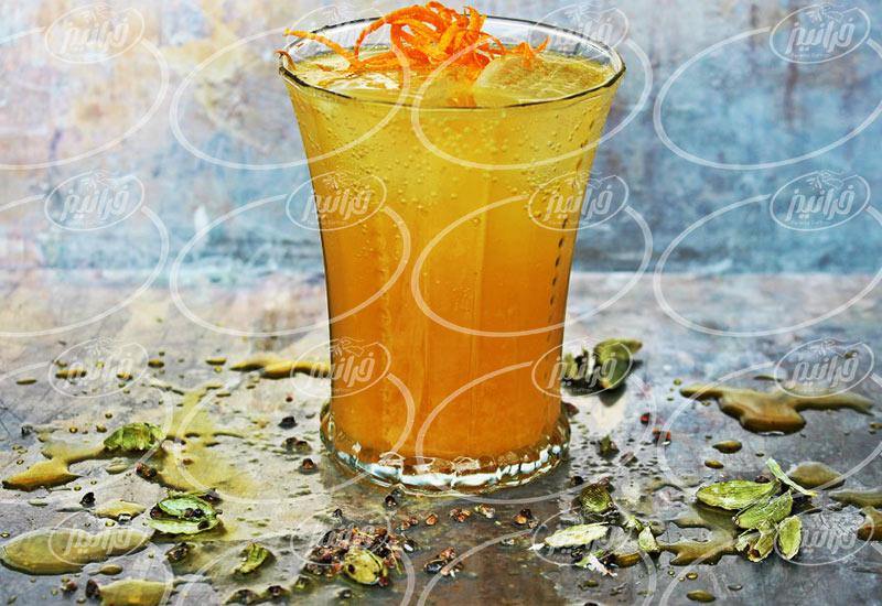 پخش اینترنتی بهترین شربت زعفران خوشمزه