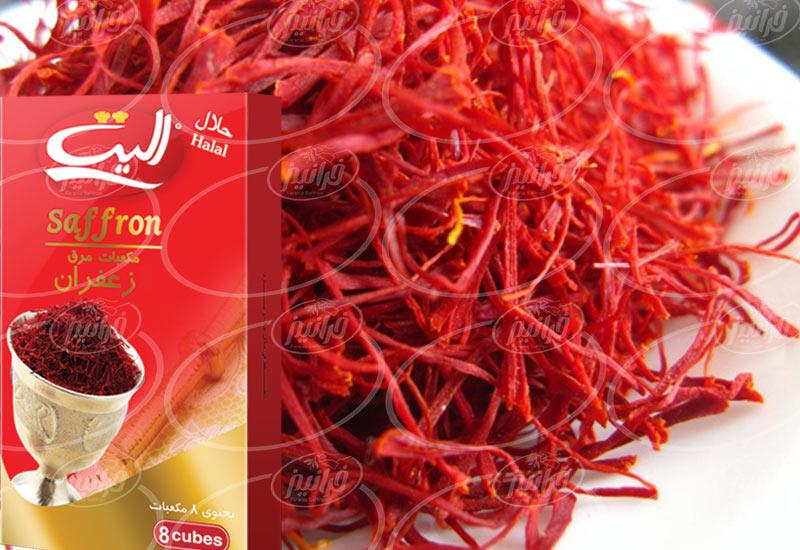 صادرات عصاره زعفران الیت به میلیون دلار