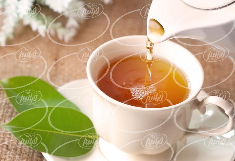 بزرگترین شرکت عرضه چای زعفرانی درجه یک