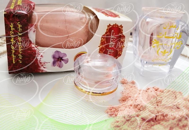 صادرات پودر زعفران قائنات به فرانسه