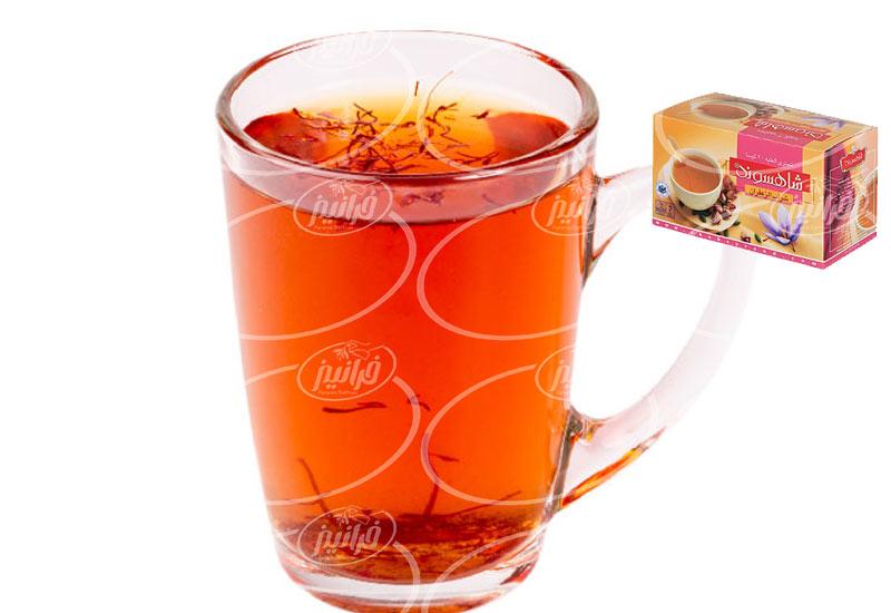 عناصر مهم سود بالا در فروش چای زعفران شهری