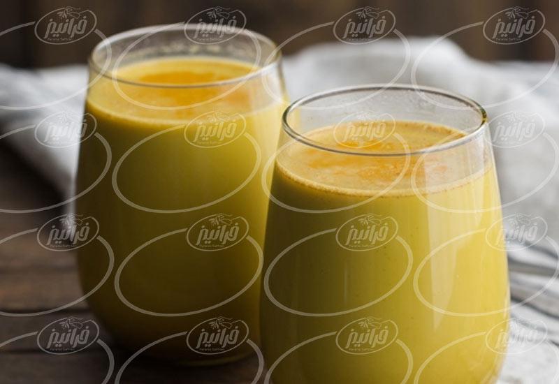تاجران کارکشته پودر نوشیدنی زعفران 200 گرم