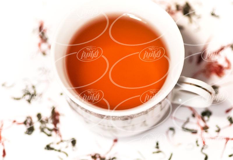 عرضه کننده چای زعفرانی بهرامن با کارتن