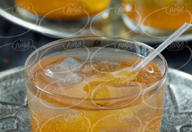 پودر نوشیدنی فوری زعفران 200 گرمی
